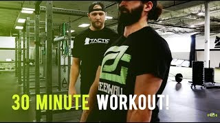 OpTic Strength: A Quick 30 Minute Workout!