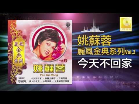 姚苏蓉 Yao Su Rong - 今天不回家 Jin Tian Bu Hui Jia (Original Music Audio)