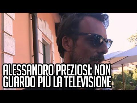 Alessandro Preziosi: Non guardo più la televisione  TVZoom.it