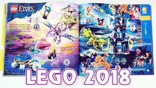 Новинки Лего на 2018 год - каталог LEGO на первое полугодие