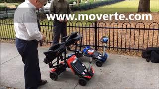 Scooter I Transformer plegable automaticamente
