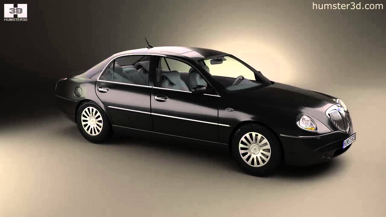 lancia thesis 2002 by 3d model store youtube. Black Bedroom Furniture Sets. Home Design Ideas
