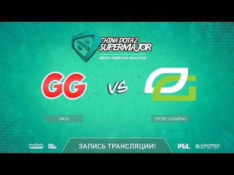 IsGG vs Optic Gaming, China Super Major NA Qual, game 1 [Mila]