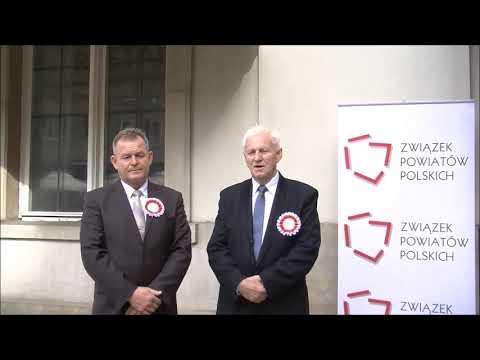 Wacław Strażewicz i Andrzej Ciołek podczas Zgromadzenia Jubileuszowego ZPP