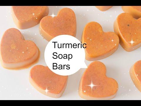 Making Turmeric Soap Bars (DIY Saturday) Green and Vegan Beauty
