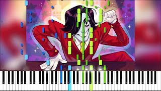 Undertale // Live & Death Report | LyricWulf Piano Tutorial on Synthesia OST 57 & 58
