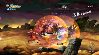 Odin Sphere Leifthrasir - Gwendolyn Gameplay (Xtra Mode)  オーディンスフィア レイヴスラシル