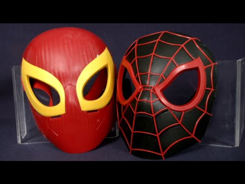 Marvel Ultimate Spider-Man Web-Warriors Ultimate Spider-Man & Iron Spider Masks from Hasbro