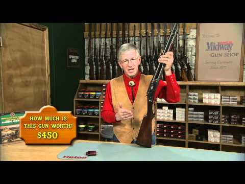 The Winchester Model 1897 Takedown Pump Action Shotgun