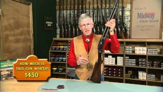 The Winchester Model 1897 Takedown Pump Action Shotgun