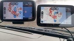 Tomtom Go 6000 vs Go 5200 planing route test