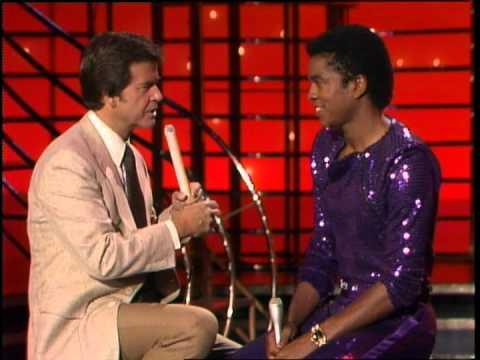 Dick Clark interviews Jermaine Jackson - American Bandstand 1982