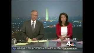 NBC 4 Earthquake live on air (July 16, 2010)
