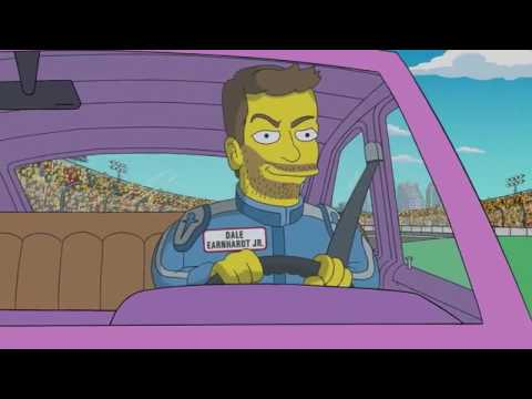 Dale Earnhardt Jr./Simpsons - Daytona Day - Daytona 500 - Super Bowl 2017
