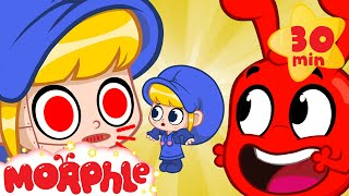 The Robot Mila Swap - My Magic Pet Morphle   Cartoons For Kids   @Morphle TV