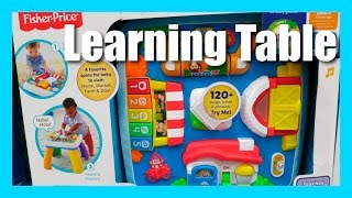 Fisher Price Laugh and Learn Around The Town Learning Table - 120 Songs and Phrases