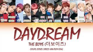 The boyz (더보이즈) - daydream (color code lyrics han/rom/eng ...