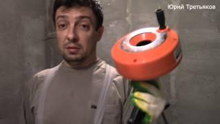Сантехнический трос TRUPER , Drum Auger ,  Обзор , Принцип работы + пример .(Сантехнический трос для прочистки канализации. В очередной раз при установке кухонной мебели столкнулся..., 2015-11-12T06:32:02.000Z)