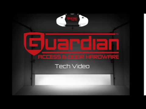 Programming A Remote To Your Guardian Garage Door Opener Youtube