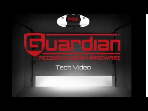 watch youtube garage door guardian opener