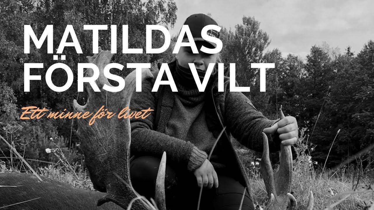 """""""Matildas första vilt""""    ett minne för livet - sundellhunting"""