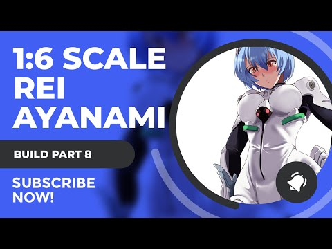 Neon Genesis Evangelion 1/6 Rei Ayanami Resin Figure Build Tutorial Part 8