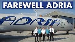 Farewell ADRIA AIRWAYS