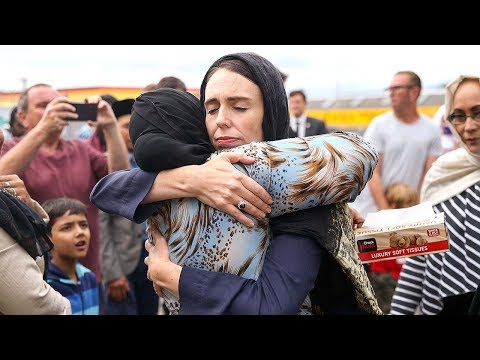 Thousands gather in Christchurch to mark one week on from deadly Mosque shootings – watch