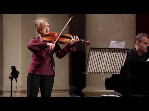 Rachel Roberts and Lars Vogt perform Brahms Viola Sonata in E flat major, Op  120 No  2