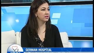 """Uzman Dr. Lale KILIÇ """"Sağlıqla"""" verlişində German Hospital 27.05.2016"""