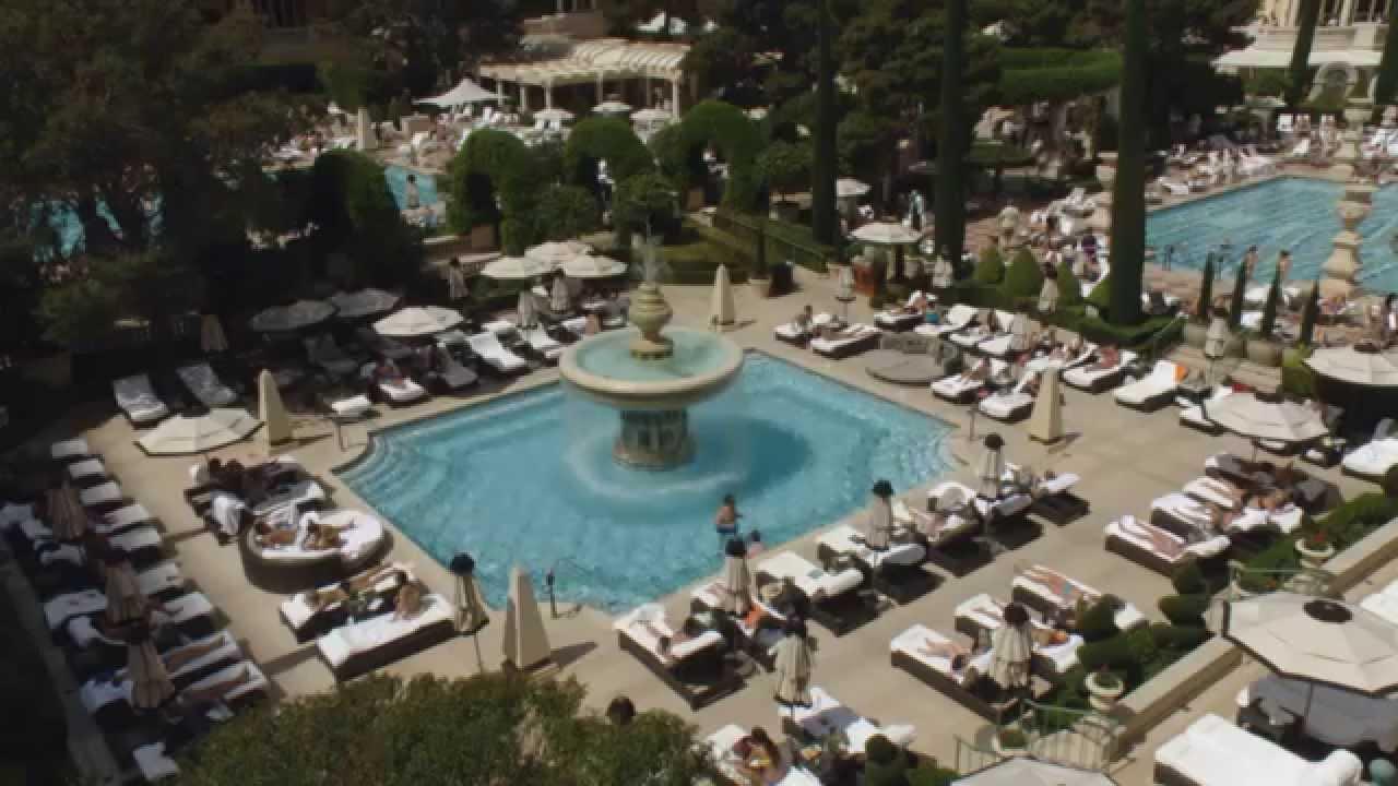 Bellagio Las Vegas Cypress Pool Hd Youtube