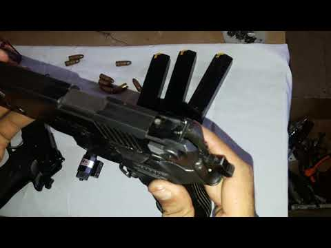 Zigana sports pistol 9mm Peshawar closings opening process