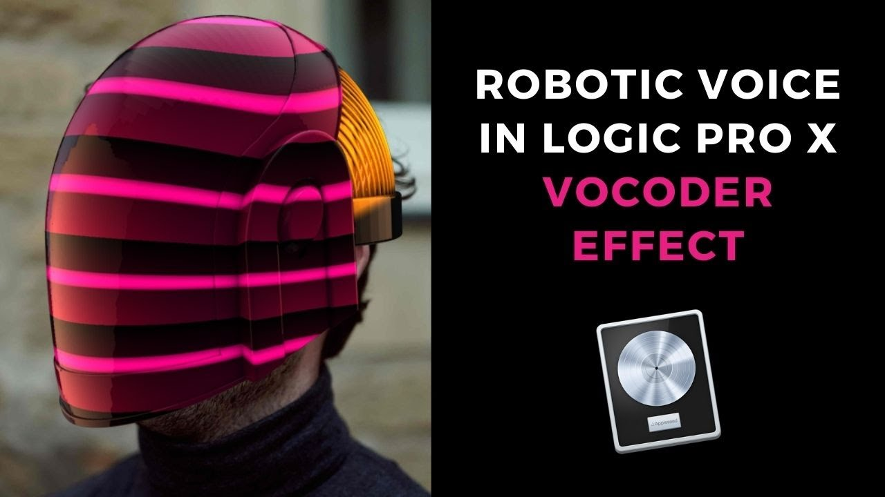 How To Use EVOC20 Vocoder for Robotic Vocal Sound in Logic Pro X  (Kraftwerk, Daft Punk)