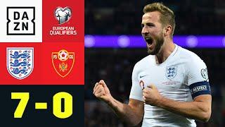 HAttRRYck_KANE_ballert_Three_Lions_zur_EM:_England_-_Montenegro_7:0_|_EM-Quali_|_DAZN_Highlights