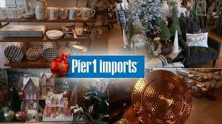 Gambar cover PIER 1 IMPORTS * CHRISTMAS DECOR 2019 / SHOP WITH ME