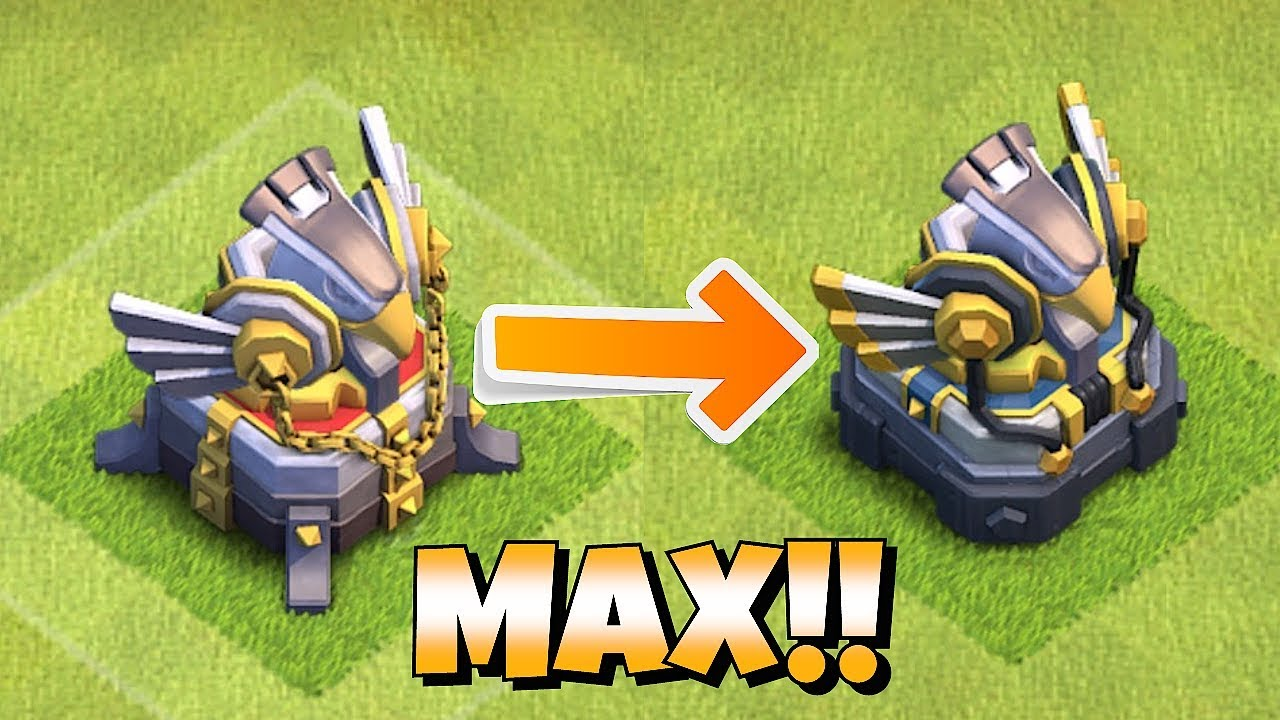"""MAX LVL 3 EAGLE ARTILLERY MAZE BASE """"Clash Of Clans"""" ALL GOBS ATTACK!!"""