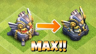 "MAX LVL 3 EAGLE ARTILLERY MAZE BASE ""Clash Of Clans"" ALL GOBS ATTACK!!"