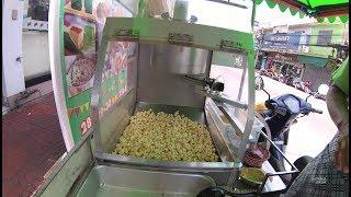 Thailand Bangkok Street Food Part.2 MotorCylce Pop CornYN020829