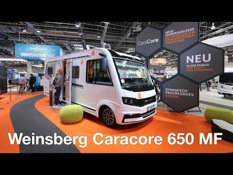 Weinsberg Caracore 650 MF: le nouvel intégral à lit à la française