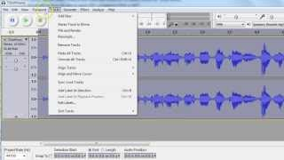 Change 128kbps to 64kbps in Audacity  MP3 files