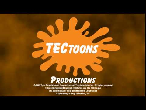 TECToons Productions with the Copyright stamp
