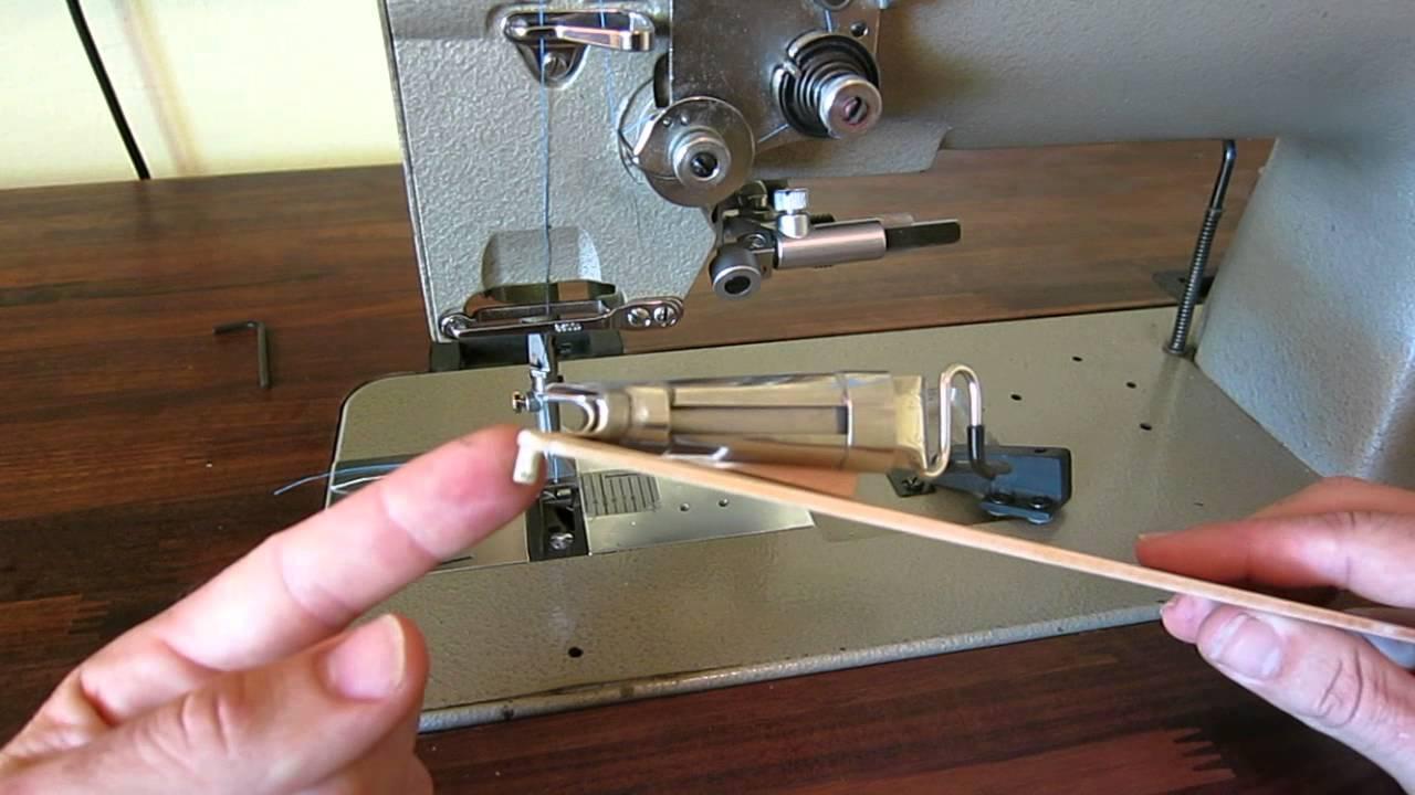 Like a sewing machine