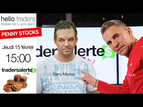 Speciale Penny stocks avec Luc et Dany Murray