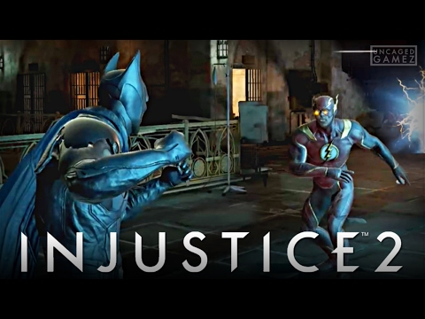 Injustice 2 Mobile: First Time Playing The Injustice 2 App!!