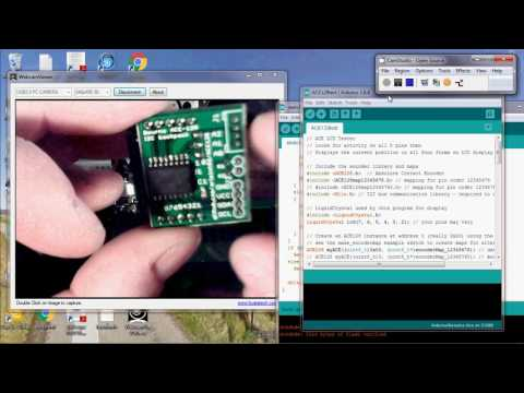 ACE128 Absolute Encoder I2C Backpack for Arduino - YouTube