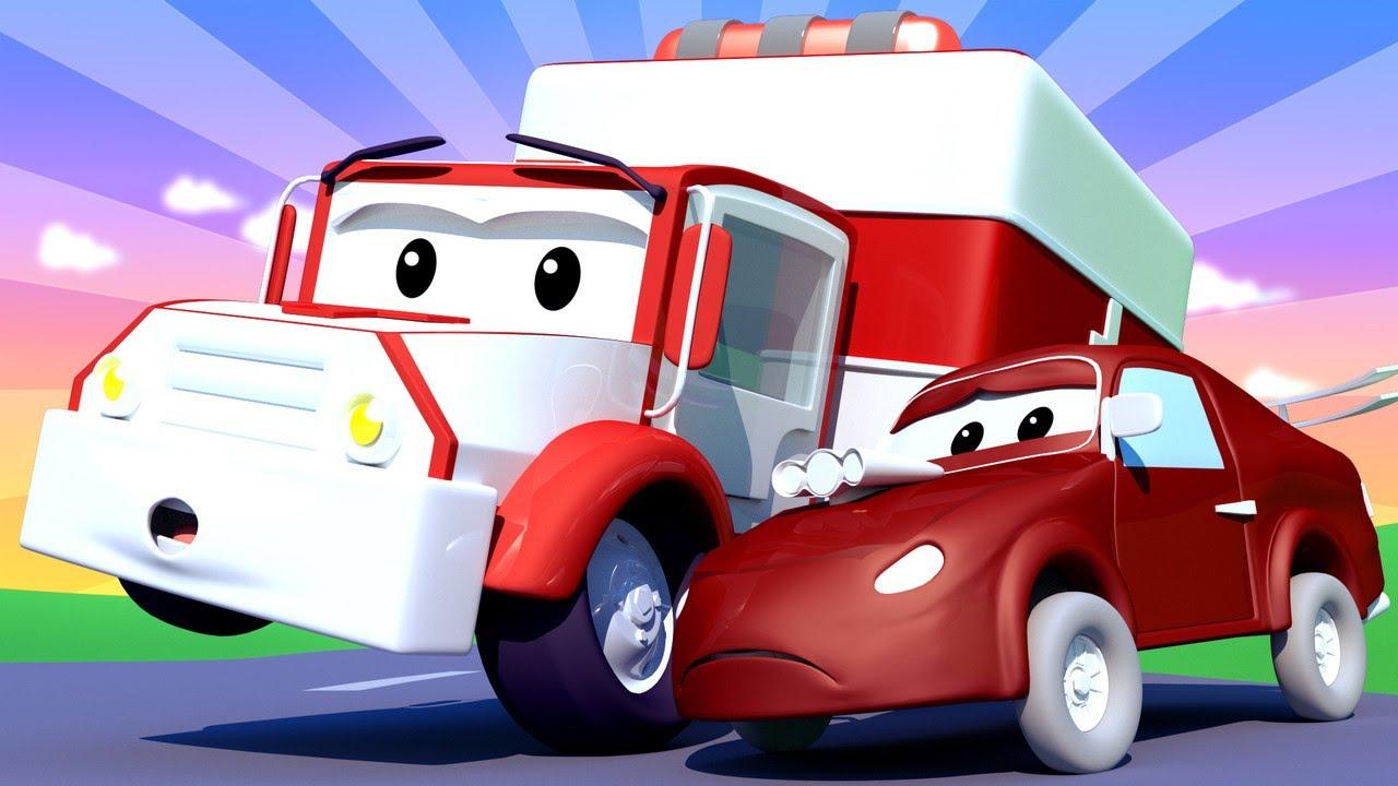 Vidéos d'ambulance pour enfants - Bébé Jerry la VOITURE DE ...