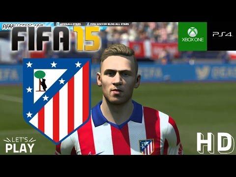 FIFA 15 Atletico De Madrid Faces / Caras