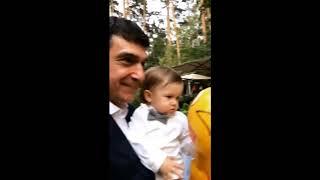 Первый день рождения сына Александра Овечкина и Анастасии Шубской