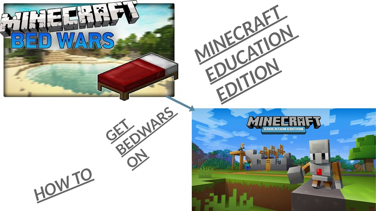 How To Get Bedwars In Minecraft Education Edition(MAC AND WINDOWS