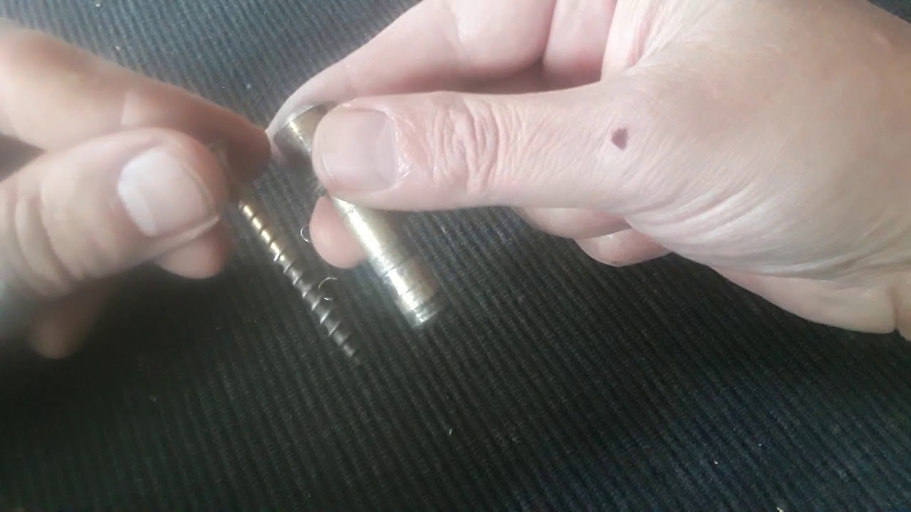 The easiest way to unlock a barrel lock